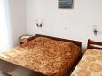Novalja, Bedroom 1 u smještaju tipa apartment, dopusteni kucni ljubimci i WIFI.