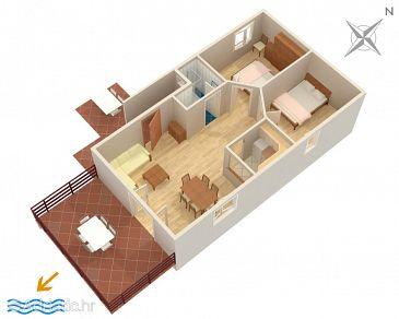 Apartment A-6557-a - Apartments Jadranovo (Crikvenica) - 6557