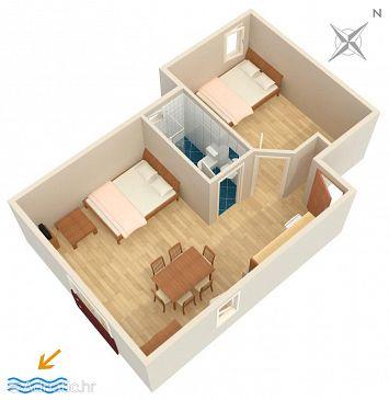 Apartment A-6557-b - Apartments Jadranovo (Crikvenica) - 6557