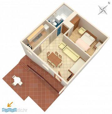 Apartment A-657-b - Apartments Marušići (Omiš) - 657