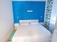Starigrad, Bedroom 2 u smještaju tipa apartment, dopusteni kucni ljubimci i WIFI.