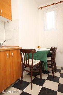 Starigrad, Dining room u smještaju tipa apartment, dopusteni kucni ljubimci i WIFI.