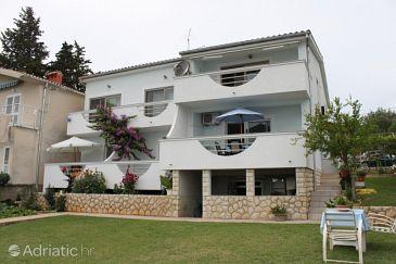 Property Posedarje (Novigrad) - Accommodation 6617 - Apartments near sea with pebble beach.