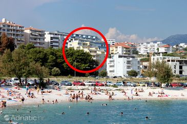 Property Split (Split) - Accommodation 6619 - Apartments near sea with pebble beach.