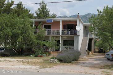Property Seline (Paklenica) - Accommodation 6629 - Apartments with rocky beach.