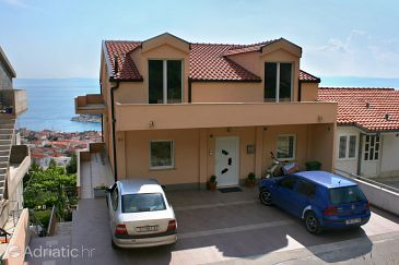 Property Makarska (Makarska) - Accommodation 6643 - Apartments and Rooms with pebble beach.