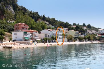 Property Drašnice (Makarska) - Accommodation 6652 - Apartments near sea with pebble beach.
