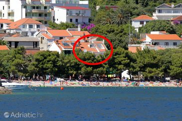 Property Drvenik Donja vala (Makarska) - Accommodation 6658 - Apartments near sea with pebble beach.