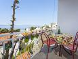 Balcony - Apartment A-6671-a - Apartments and Rooms Podgora (Makarska) - 6671