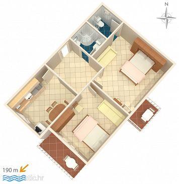 Apartment A-6671-b - Apartments and Rooms Podgora (Makarska) - 6671