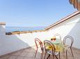 Terrace - Studio flat AS-6671-a - Apartments and Rooms Podgora (Makarska) - 6671