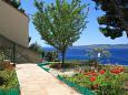 Brela, Makarska, Courtyard 6674 - Apartments blizu mora.