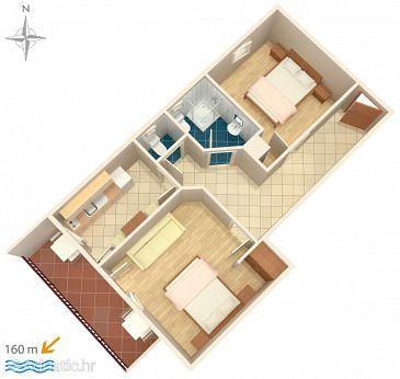 Apartment A-6678-a - Apartments Zaostrog (Makarska) - 6678