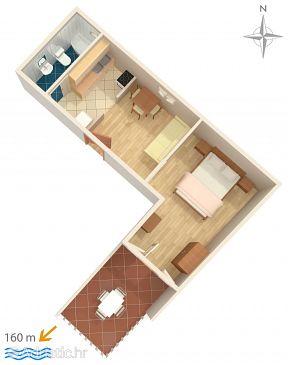 Apartment A-6678-c - Apartments Zaostrog (Makarska) - 6678
