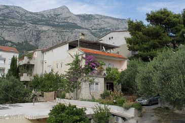 Property Makarska (Makarska) - Accommodation 6691 - Apartments with pebble beach.
