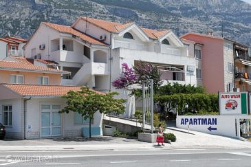 Property Makarska (Makarska) - Accommodation 6693 - Apartments with pebble beach.