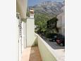 Balcony - Apartment A-6707-b - Apartments Baška Voda (Makarska) - 6707