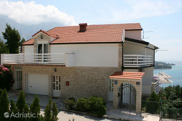 Property Baška Voda (Makarska) - Accommodation 6719 - Apartments with pebble beach.