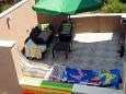 Terrace - Apartment A-6736-b - Apartments Podaca (Makarska) - 6736