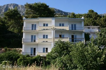 Property Drvenik Donja vala (Makarska) - Accommodation 6737 - Apartments with pebble beach.