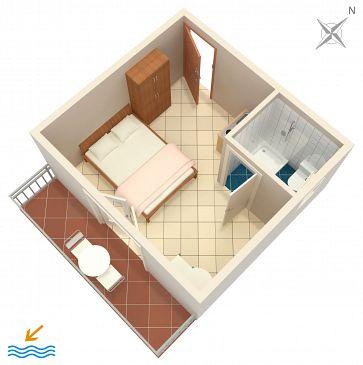 Studio AS-6745-a - Apartamenty Podaca (Makarska) - 6745