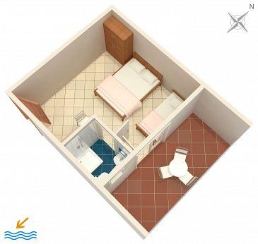 Studio flat AS-6745-d - Apartments Podaca (Makarska) - 6745