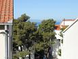 Makarska, Terrace - view u smještaju tipa studio-apartment, WIFI.