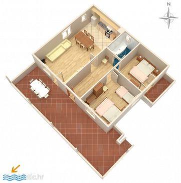 Apartment A-676-a - Apartments Kožino (Zadar) - 676