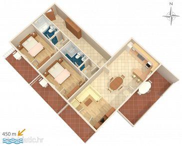 Apartment A-6762-a - Apartments Baška Voda (Makarska) - 6762