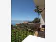 Balcony 1 - Apartment A-6774-a - Apartments Podgora (Makarska) - 6774
