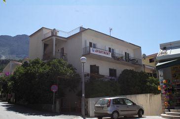 Property Podgora (Makarska) - Accommodation 6789 - Apartments near sea with pebble beach.