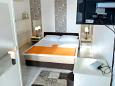 Bedroom - Studio flat AS-6793-a - Apartments Makarska (Makarska) - 6793