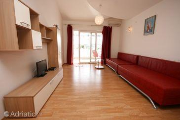 Okrug Gornji, Living room u smještaju tipa apartment, dostupna klima i WIFI.