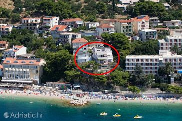 Property Podgora (Makarska) - Accommodation 6805 - Apartments near sea with pebble beach.