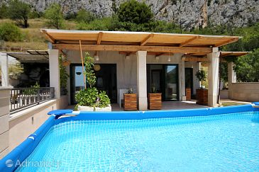 Property Kotišina (Makarska) - Accommodation 6808 - Vacation Rentals with pebble beach.