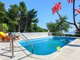 Courtyard Kotišina (Makarska) - Accommodation 6809 - Vacation Rentals with pebble beach.