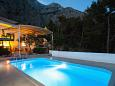 Property Kotišina (Makarska) - Accommodation 6809 - Vacation Rentals with pebble beach.