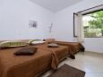 Gornji Tučepi - Podpeć, Bedroom 2 u smještaju tipa house, dopusteni kucni ljubimci i WIFI.