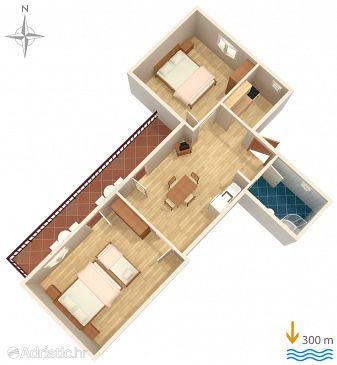 Apartment A-6820-b - Apartments Gradac (Makarska) - 6820