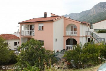 Gradac, Makarska, Property 6820 - Apartments with pebble beach.