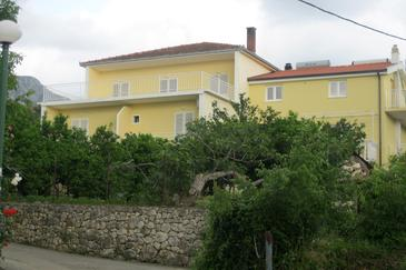 Property Podaca (Makarska) - Accommodation 6821 - Apartments near sea with pebble beach.