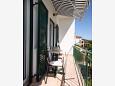 Balcony - Apartment A-6823-b - Apartments Zaostrog (Makarska) - 6823