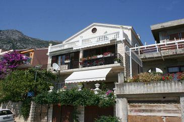 Property Gradac (Makarska) - Accommodation 6825 - Apartments with pebble beach.
