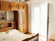 Bedroom - Studio flat AS-6827-i - Apartments Baška Voda (Makarska) - 6827