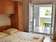 Bedroom - Studio flat AS-6827-j - Apartments Baška Voda (Makarska) - 6827