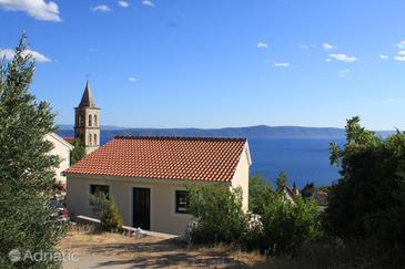 Property Gornja Podgora (Makarska) - Accommodation 6833 - Vacation Rentals with pebble beach.