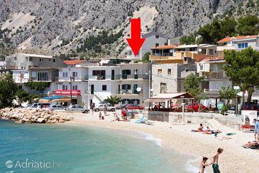 Property Drašnice (Makarska) - Accommodation 6835 - Vacation Rentals near sea with pebble beach.