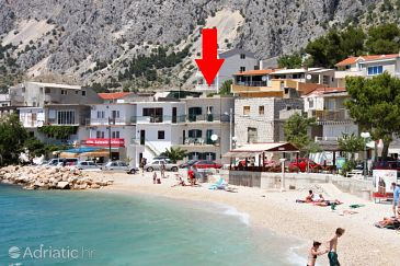 Drašnice, Makarska, Property 6835 - Vacation Rentals blizu mora with pebble beach.