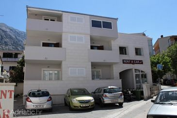 Property Baška Voda (Makarska) - Accommodation 6848 - Apartments near sea with pebble beach.