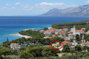 Property Promajna (Makarska) - Accommodation 6849 - Apartments near sea with pebble beach.